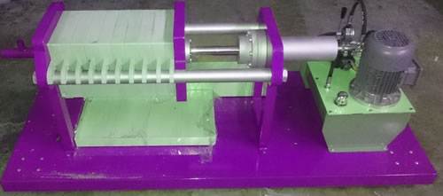 Mini Filter Press for Food Indusry